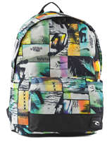 Backpack 1 Compartment Rip curl Multicolor ocean glitch BBPIP4