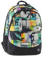 Backpack 2 Compartments Rip curl Multicolor ocean glitch BBPIR4