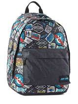 Backpack 2 Compartments Rip curl Black woven BBPPL2