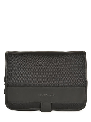 Longchamp NYLTEC Toiletry case Black