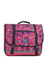 Satchel 2 Compartments Rip curl Red mandala LBPJT4