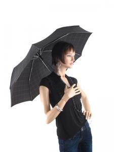 Parapluie Esprit Noir gents mini tecmatic 50350-vue-porte