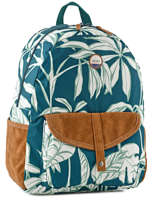 Backpack 1 Compartment Roxy Blue back to school soul RJBP3537