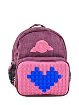 Backpack Eggman Violet silicone BABEGGIS