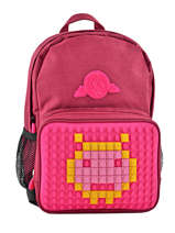 Backpack Mini Eggman Red silicone KIDEGGIS