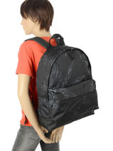 Backpack 1 Compartment Quiksilver Gray shadow QYBP3419-vue-porte