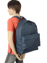 Backpack 1 Compartment Quiksilver Blue shadow QYBP3419-vue-porte
