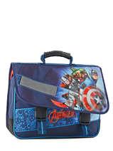 Cartable 2 Compartiments Avengers Bleu shield AVL13007