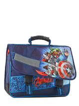 Satchel 2 Compartments Avengers Blue shield AVL13007