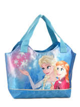 Shoulder Bag Reine des neiges Blue star led 482STAR