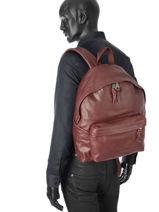 Backpack 1 Compartment Eastpak Red K620L-vue-porte