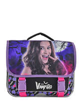 Satchel 2 Compartments Chica vampiro Black night CHISI10