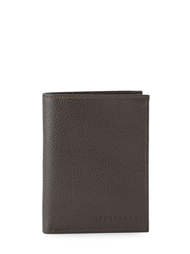 Longchamp Le foulonné Wallet Black