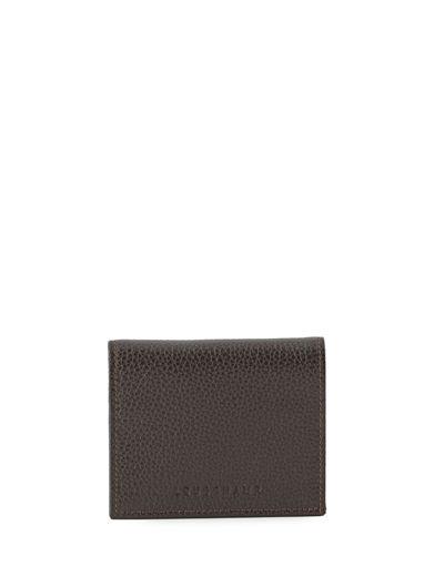 Longchamp Le foulonné Coin purse Black