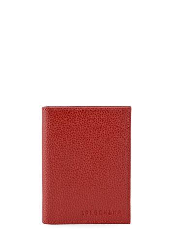 Longchamp Bill case / card case Red