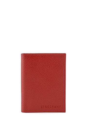 Longchamp Porte billets/cartes Rouge