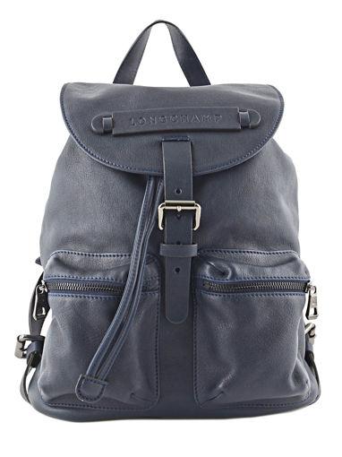 Longchamp Backpacks Blue