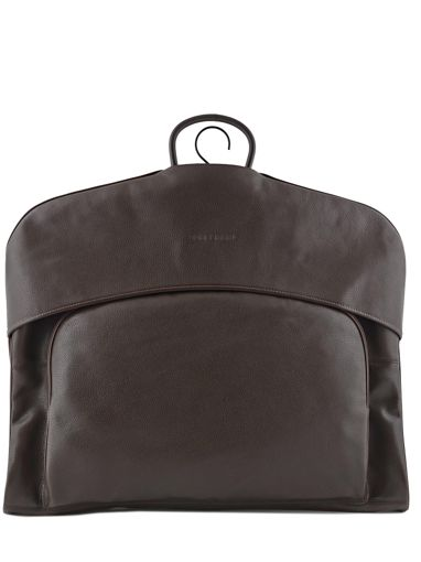 Longchamp LE FOULONNÉ BICOLORE Garment case Brown
