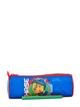 Trousse 1 Compartiment Paw patrol Rouge basic AST3855-vue-porte
