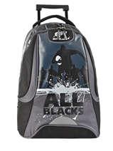 Sac à Dos à Roulettes 2 Compartiments All blacks Noir all black 173A204R
