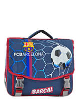 Satchel 2 Compartments Fc barcelone Black 1899 173B203S