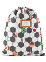 Backpack Jeune premier Multicolor canvas BK17