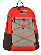 Backpack 1 Compartment + 15'' Pc Dakine Red street packs 1001-439