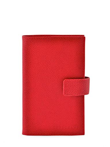 Longchamp Le foulonné Agenda Rouge