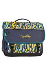 Satchel 3 Compartments Cameleon Blue new basic NBA-CA41
