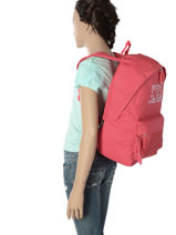 Backpack 1 Compartment Pepe jeans Pink samantha 66123-vue-porte