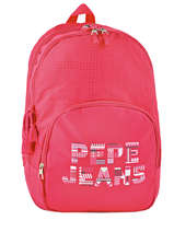 Backpack 2 Compartments Pepe jeans Pink samantha 66124