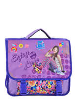 Satchel Soy luna Blue purple line 10LUNA