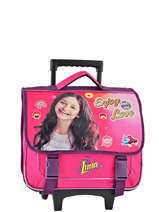 Wheeled Schoolbag Soy luna Pink enjoy 18ENJO