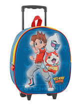 Wheeled Backpack Yokai watch Blue super 12429WEF