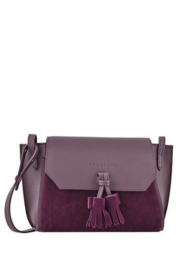 Longchamp Messenger bag Violet
