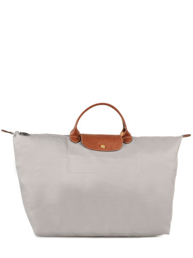 Longchamp Le pliage Travel bag Gray