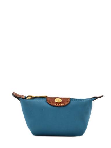 Longchamp Le pliage Coin purse Blue