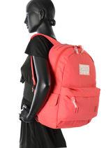 Sac à Dos 1 Compartiment Superdry Rose backpack woomen G91001DP-vue-porte