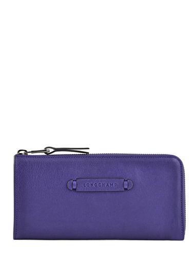 Longchamp Longchamp 3d Wallet Violet