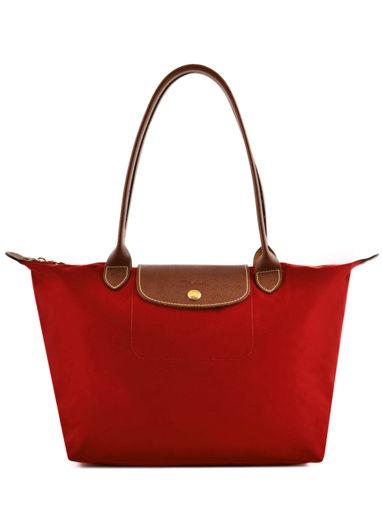 Longchamp Besaces Rouge
