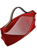 Longchamp Clutches Red-vue-porte