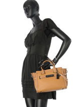 Trapeze Swagger Leather Coach Brown swagger 59505-vue-porte