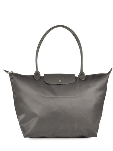 Longchamp Le pliage neo Messenger bag Gray