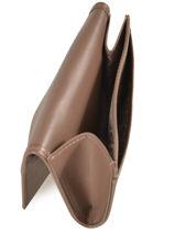 Longchamp Honoré 404 Coin purse Brown-vue-porte