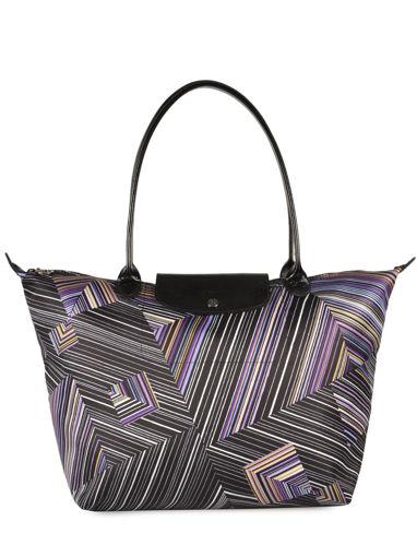 Longchamp Sac porté travers Violet
