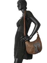 Shoulder Bag Starlyn Miniprix Brown starlyn MD573-vue-porte