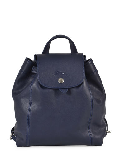 Longchamp Le pliage cuir Backpack