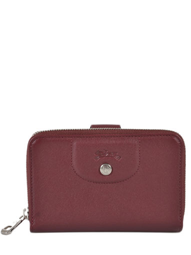 Longchamp Portefeuille Rouge