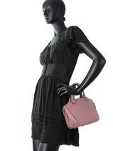 Mini-bag  Leather Milano Pink G151107-vue-porte