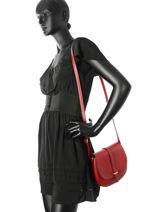 Crossbody Bag Milano Red palma PA16127-vue-porte